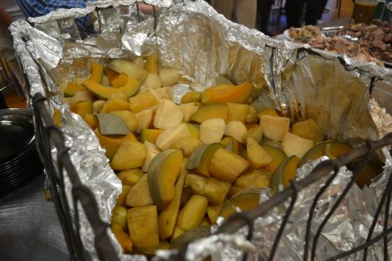 potatis, pumpa och sötpotatis